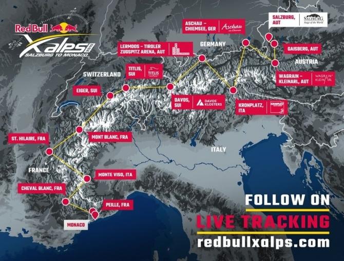Сегодня стартовал Red Bull X-Alps (Воздух, евгений, грязнов, параплан)