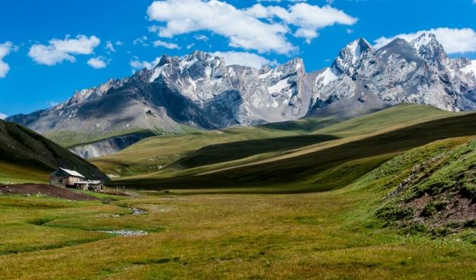 Тянь-Шань на велосипеде (велопоход, киргизия, активный отдых, горы, перевалы)
