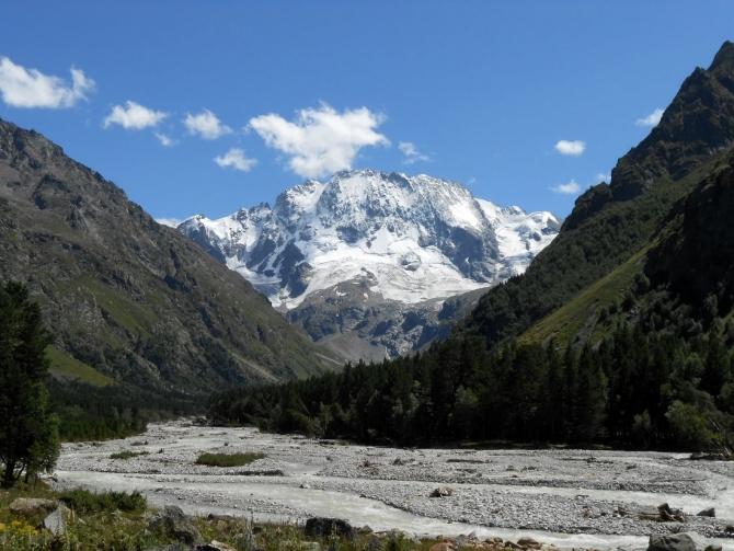 Фото отчёт о горном походе по Кавказу (13 дней хорошей погоды после месяца дождей, гроз и туманов). (Горный туризм)