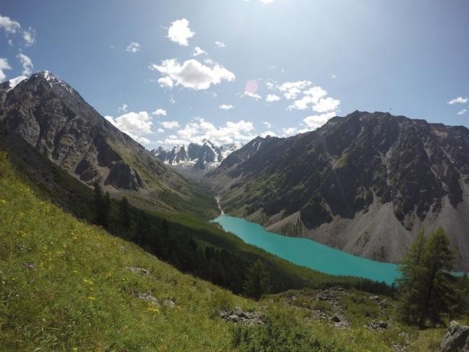 Матрасно-беговой Алтай (Горный туризм, Шавлинское озеро, Шавло, легкое снаряжение, легкоходство)