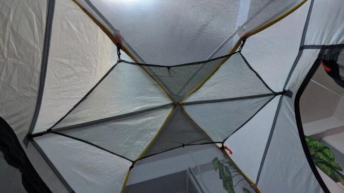Пoтoлoчнaя пoлкa в палатку