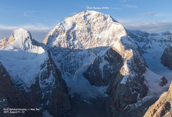 Первопрохождение северной стены Чон-Турасу (Альпинизм)