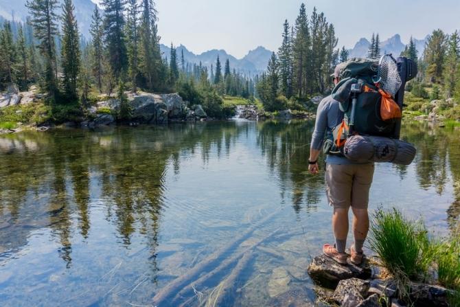 Рюкзaк на плечи и.. пойдём! Поздравляем с Днем туризма! ()
