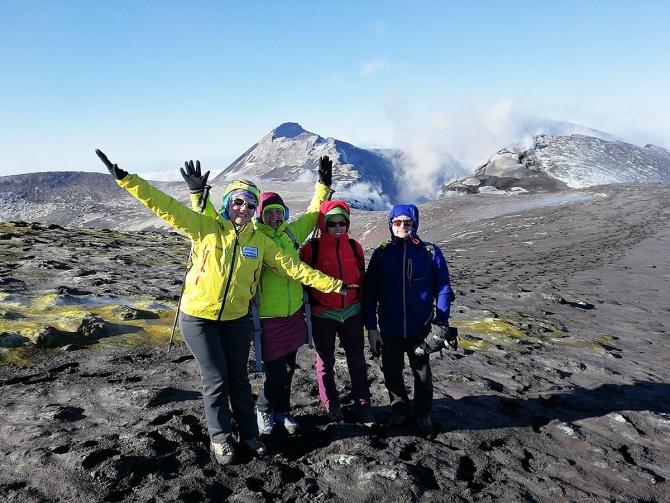 Юбилей по-альпинистски на вулкане Этна (Альпинизм, сицилия, морозова, день рождения, redfox)