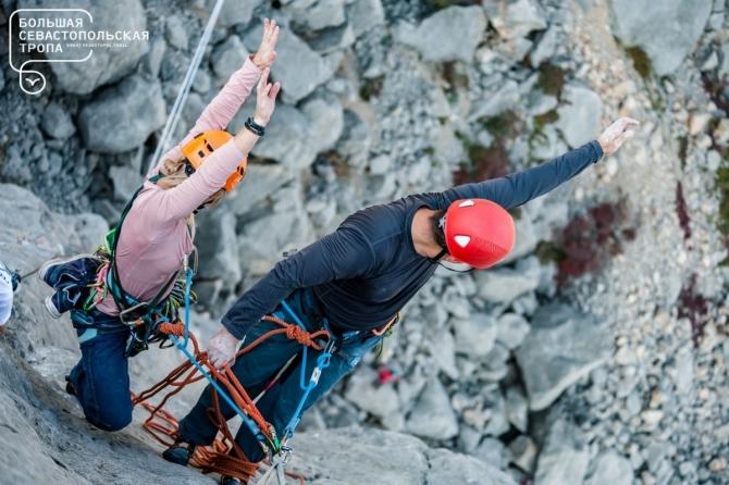 Oткрытый кубок Севастополя по альпинизму (соревнования по альпинизму, большая севастопольская тропа, скала Парус, фестиваль БСТ)