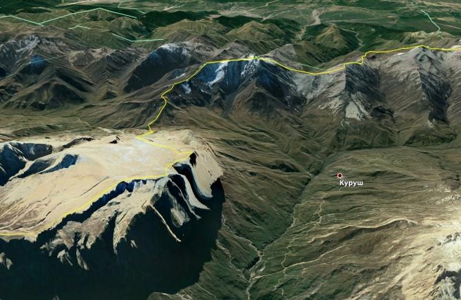 Пересечение государственной границы вне пунктов пропуска (Альпинизм)