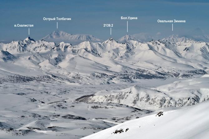 Камчатка 2019 (Туризм, лыжный туризм, скитур, лыжный поход, первопрохождение)