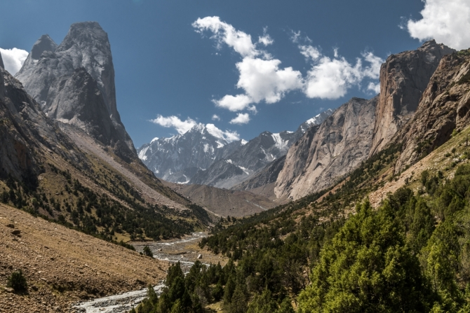 Конец лета в Каравшине (Горный туризм, Орто-Чашма, Ак-суу, Узгуруш, туркестанский хребет, гиссаро-алай, август, горы, фото)