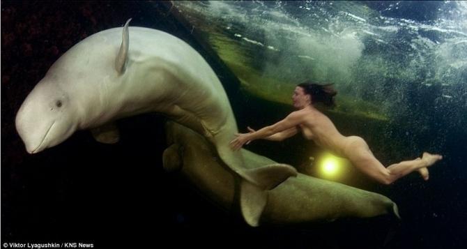 Плывущая с китами (Вода)