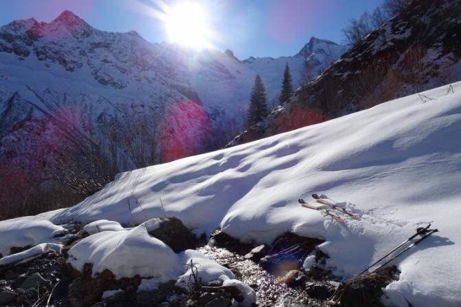Первый ски-тур в Домбае в этом году (Alplife.ru, роман губанов, теберда, домбай, алибек, Семёнов Баши)