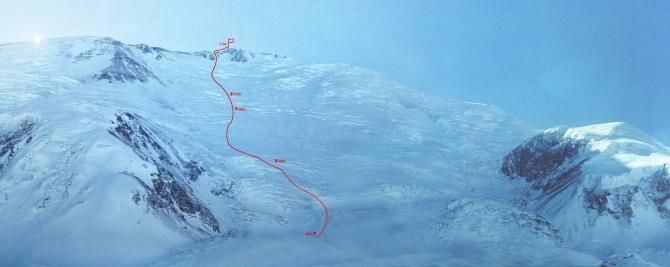 Пик Ленина, январь–февраль 1990 г. Первый туристский зимний семитысячник (Альпинизм)