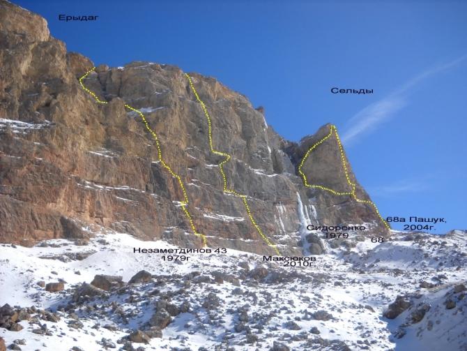 Ерыдаг, майская навигация (Альпинизм, дагестан, майские горы)