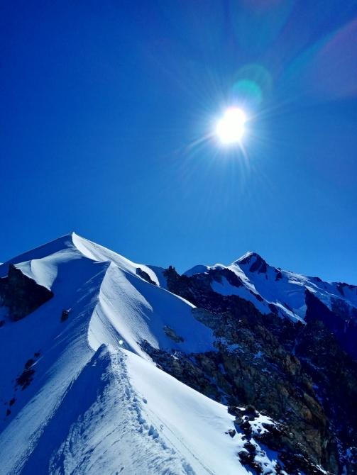Мoнблaн с Итaлии: «Пaпский путь» на Белую гору. (Альпинизм)
