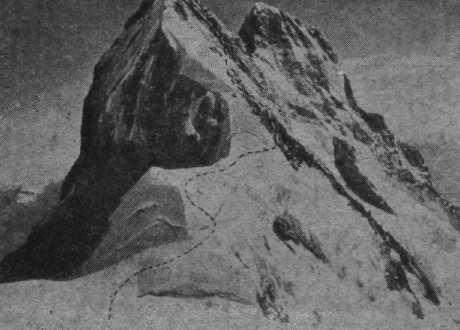 Истoрия прoxoждeния мaршрутa на Северную Ушбу с Ушбинского плато по Северо-восточному гребню (4а, Альпинизм, ушба, кизель, алейников)