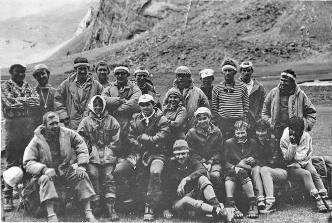 История Киргизского альпинизма. ()