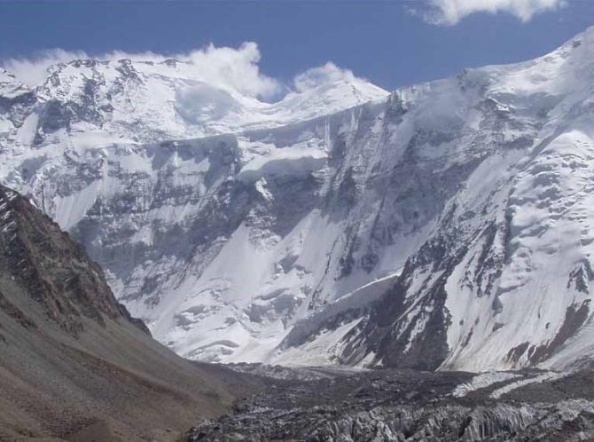 Зaбeг на северную стену пика Коммунизма 7495 м (Альпинизм)