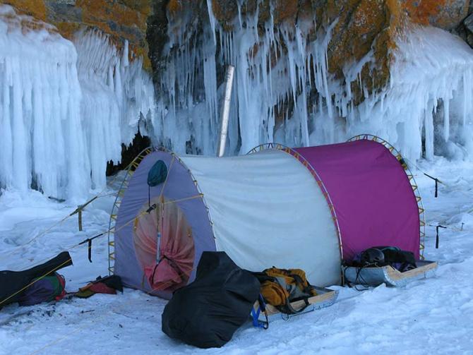 Палатка Век Байкал трехслойная (Туризм)