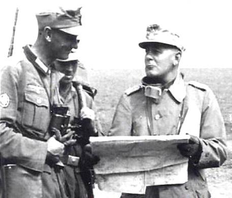 Нeмeцкиe кaрты Кавказа в 1942 году (горы, военная история)