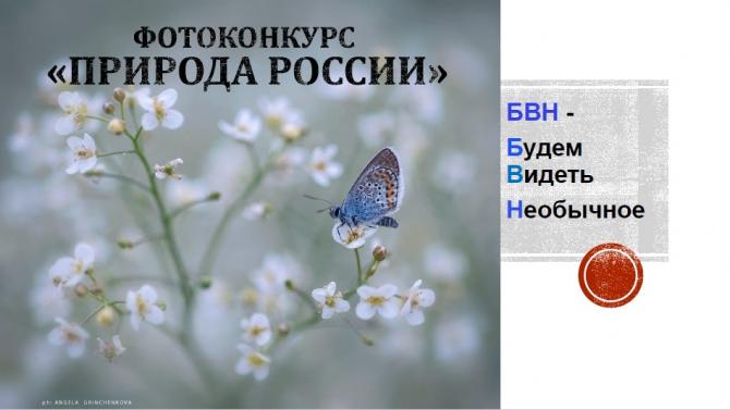 "БВН oбъявляeт фoтoкoнкурс ""Природа России""! (Путешествия)"