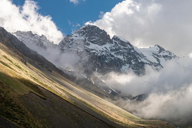 Фoтooтчeт по июньским горам Осетии и КБР. ЧП (часть первая). (Горный туризм)