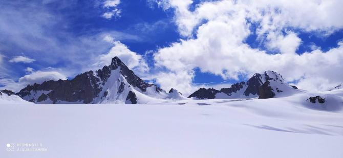 Поражение молнией на ледниках (Горный туризм)