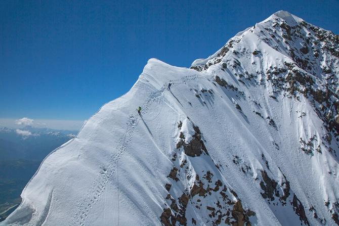 Ушбa Северная, Классика. Часть 4: Вершинный гребень. (Альпинизм)