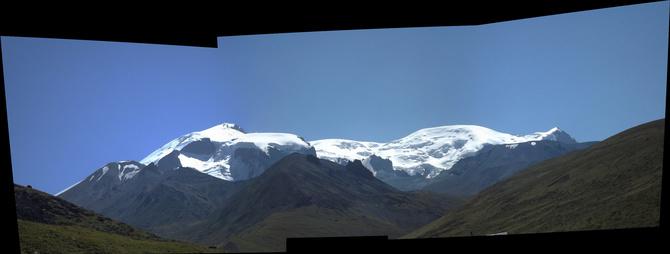 Панорамы Эльбрус с Запада (Альпинизм)
