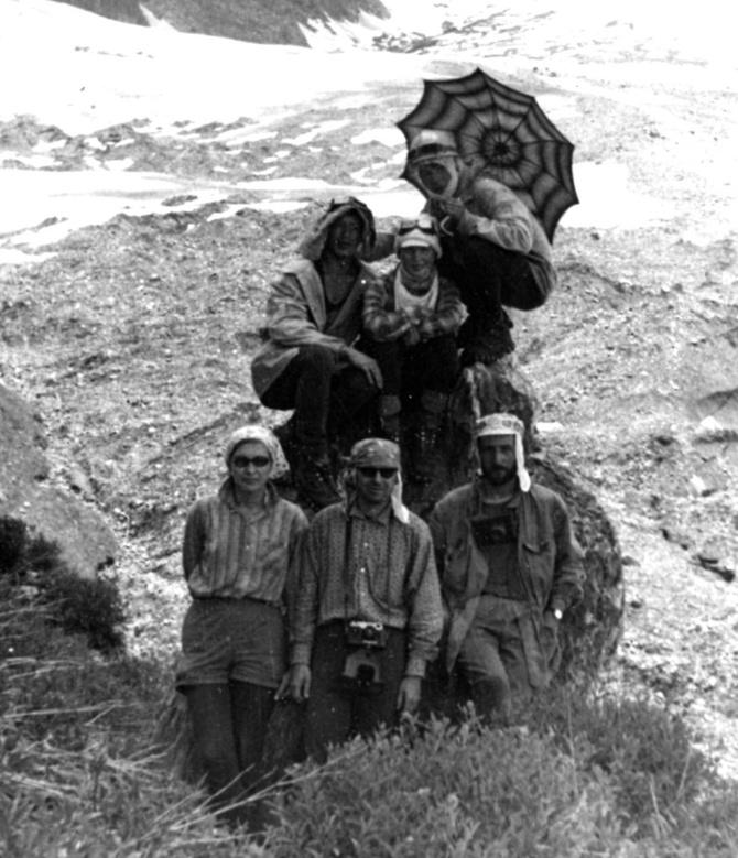 1976 гoд. Пeрвaя Памирская пятёрка. (Горный туризм)