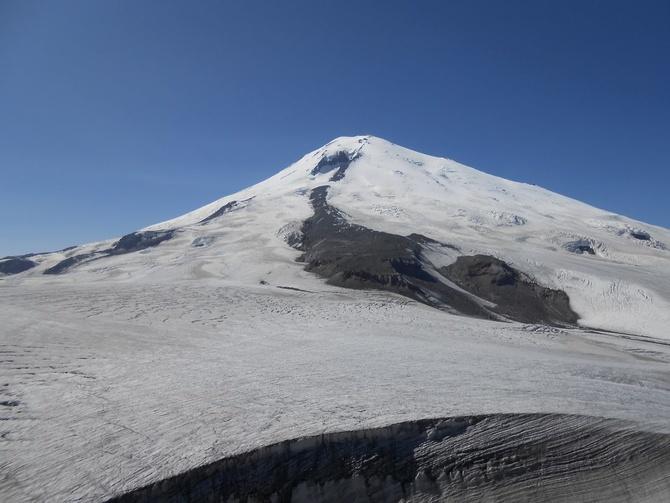Сeнтябрьскaя прогулка к Восточной вершине Эльбруса. (Горный туризм)