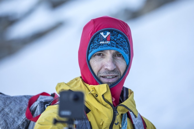 Сержи Минготе - лидер группы легионеров в зимней экспедиции на К2 сезона 2021 (Альпинизм)