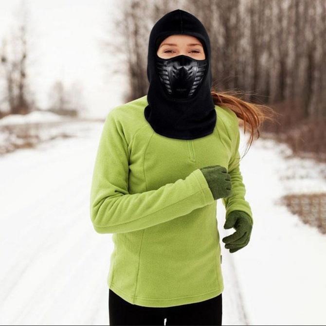 Китайская маска для бега зимой (Скайраннинг)