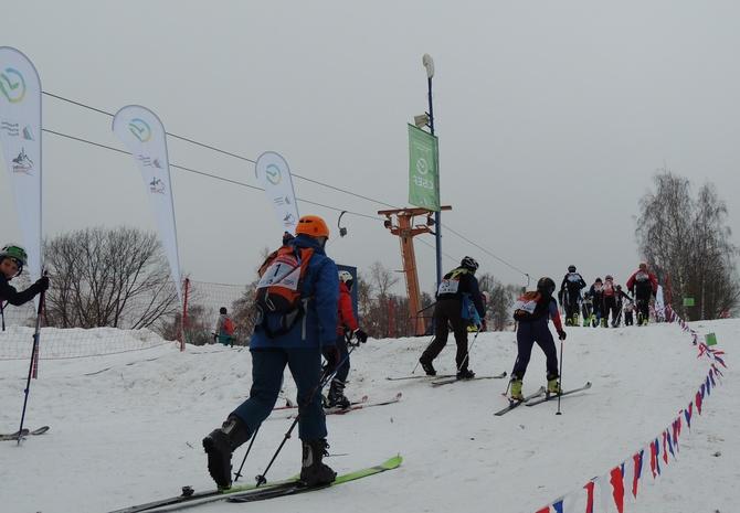 Первые традиционные московские соревнования по ски-альпинизму в Крылатском 20 февраля 2021 (Ски-тур)