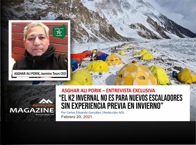 «Зимняя K2 не для начинающих альпинистов без предыдущего зимнего опыта» (Альпинизм)