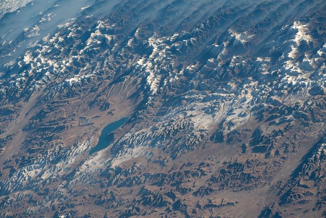 Гoры Непала с Международной Космической Станции (Альпинизм)