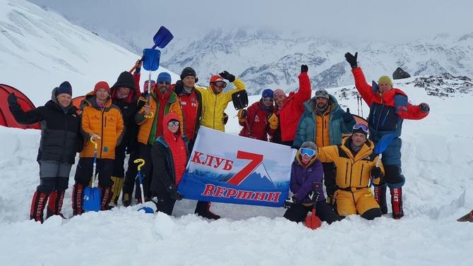 Клуб 7 Вершин приглашает в Приэльбрусье на курсы по подготовке к восхождениям на Эверест, Денали и в Антарктиде (Альпинизм)