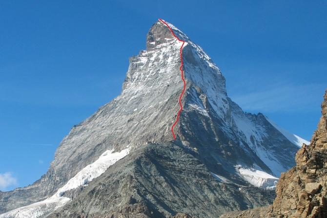 Подробное описание маршрута на Matterhorn по гребню «Hörnli» (Альпинизм)