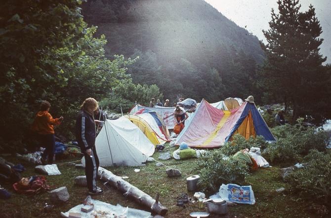 В горах наши сердца. ЧАСТЬ 3. Организация ночевок (Горный туризм)