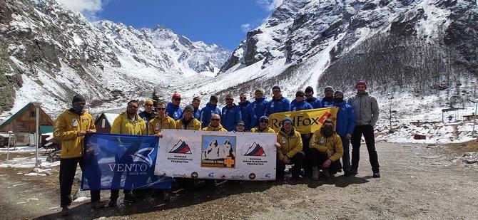УТС на жетон «Спасение в горах» открыл безенгийский сезон 2021 (Альпинизм)