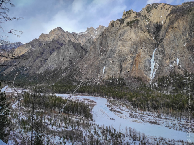 2021 долина реки Алла, Бурятия. Ледолазание. (Ледолазание/drytoolling)