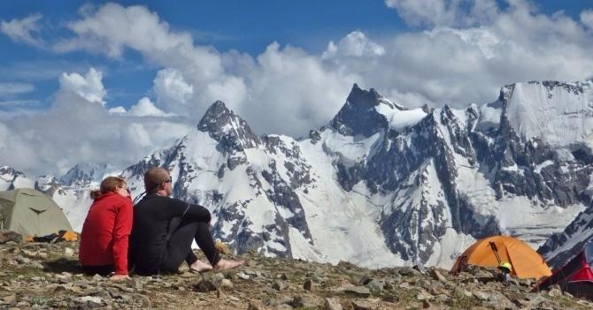 Учебно-методический центр альпинизма Эльбрус, ущ. Адылсу. Работа летом 2021 г ()