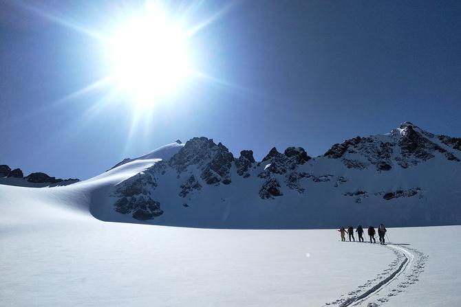 Скитур в Киргизии, часть 1 (Ски-тур)
