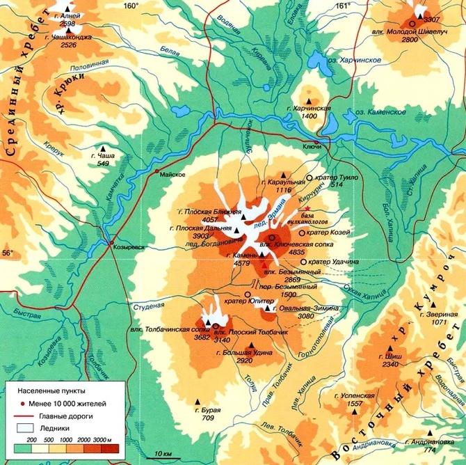 Восхождение на вулкан Камень по 4А (Альпинизм)