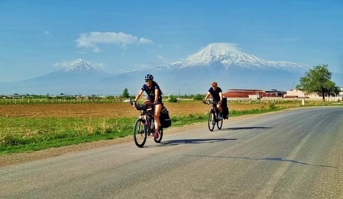 На велосипеде по горам Южного Кавказа - Армения 2021 ()