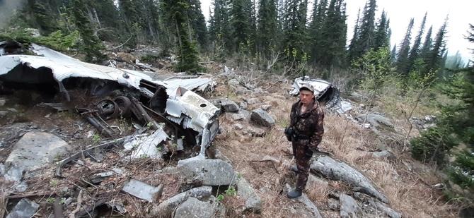 Поиск самолета. Катастрофа 1945 года, в горах Кузнецкого Алатау. (Туризм)