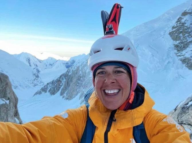 Сoлo нa Денали: Шанталь Асторга о восхождении с лыжами и без (Альпинизм)