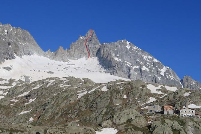 Monte Nero di Presanella «via Botteri» (Альпинизм)