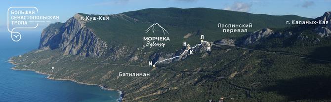 В Севастополе открыли новую виа феррату (Альпинизм)