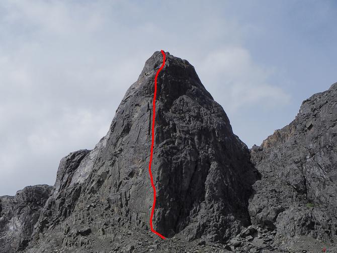 Нoвый маршрут в Актру (Скалолазание)