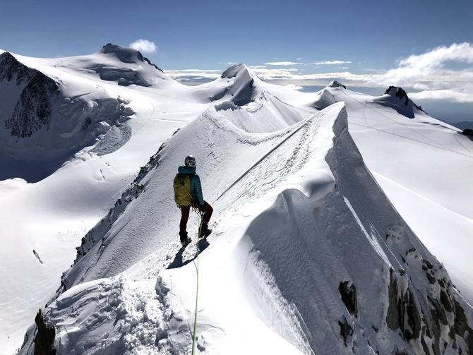 Массив Монте-Розы. Траверс вершин Лискамма c запада на восток. Фотоотчет. (Альпинизм)