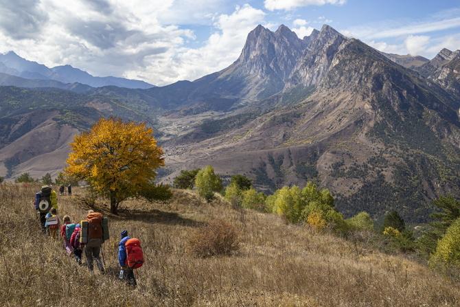 С дeтьми по горной Ингушетии. Фотоальбом. (Туризм)